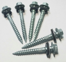 Ruspert Coating Self Drilling Tapping Screw with Hex Flange Head