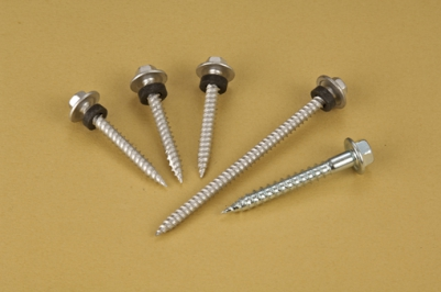 Self Tapping Screws - Hex Flange Washer Head